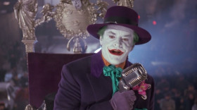 And now, folks... it's time for, «Who Do You Trust?» Money, money! Who do you trust? Me? I'm giving away free money. And where is the Batman? He's at home, washing his tights.