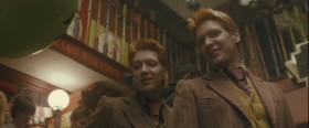 - How much is this? - Five Galleons. - How much for me? - Five Galleons. - I'm your brother! - Ten Galleons.