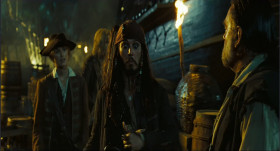 - I'm here to find the man I love. - I'm deeply flattered, son, but my first and only love is the sea. - Meaning William Turner, Captain Sparrow.