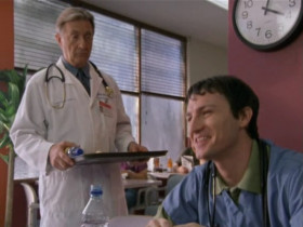 - Dr Kelso, none of my patients have died today. - Really? Mr Ferguson's corpse begs to differ.