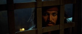 - Well, well, well. Look what we have here, Twigg. Captain Jack Sparrow. - Last time I saw you, you were all alone on a godforsaken island shrinking into the distance. His fortunes aren't improved much. - Worry about your own fortunes, gentlemen. The deepest circle of hell is reserved for betrayers and mutineers.