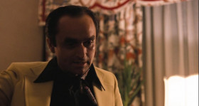 - Mike! You don't come to Las Vegas and talk to a man like Moe Greene like that! - Fredo. You're my older brother, and I love you. But don't ever take sides with anyone... against the family again... ever.