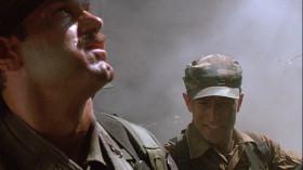 - You're hit. You're bleedin', man. - I ain't got time to bleed.