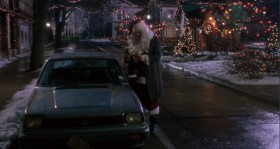 How low! Giving Kriss Kringle a parking ticket on Christmas Eve! What's next, rabies shots for the Easter Bunny?