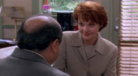 - I'm busy, Angela. - I'm, pregnant, Larry. - Really? That's wonderful. How long? - Seven weeks, give or take. - The Kelman wedding. The night of the Kelman wedding. Yeah, that's the only time we did it. - No. He was in and out of my life very quickly. - Not quickly enough, apparently. He who? - It's not important. - You sure it's not mine? - Come on. After all the years we tried I don't think it's going to happen one night, by accident. - Thought maybe one of mine could have bribed his way in or something.