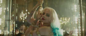 - You're lucky man. You got a bad bitch. - Oh, that she is. The fire in my loins. The itch in my crotch. The one, the only, the infamous Harley Quinn!