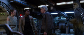 Well, you tell him that Han Solo... just stole back the «Millennium Falcon» for good.