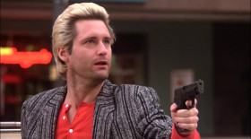- Give the bag to Bozo, drop the gun and put your hands in the air. - Who said that? - This could very well be the stupidest person on the face of the earth. Perhaps we should shoot him. It's the police department. - Really? - No! We're the National Rifle Association!