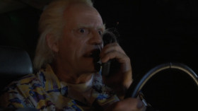 - Doc! Doc, come in! - Marty, come in. - Listen, Biff's guys chased me into the gym and they're gonna jump... me. - Then get out of there! - No, Doc, not me. The other me. The one that's up on stage playing «Johnny B. Goode». - Great Scott! Your other self will miss the lightning bolt. You won't get back to the future and we'll have a major paradox! - Wait. A paradox? You mean one of those things that can destroy the universe? - Precisely.