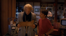 - I'm sorry, Doc. It's all my fault you're stuck back there. I never should have let Biff get to me! - Well, there are plenty worse places to be than the Old West. I could've ended up in the Dark Ages. They probably would have burned me at the stake as a heretic or something.