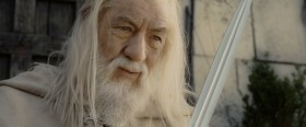 - I didn't think it would end this way. - End? No, the journey doesn't end here. Death is just another path one that we all must take. The grey rain curtain of this world rolls back and all change to silver glass. And then you see it. - What, Gandalf? See what? - White shores. And beyond... A far green Country under a swift sunrise.