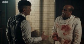 - Thomas Shelby. - My hand was blood.  - Oh, mine too.
