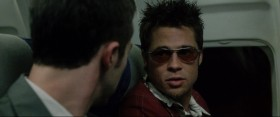 Tyler Durden: Did you know that if you mix equal parts of gasoline and frozen orange juice concentrate, you can make napalm?