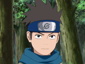 - I don't care what you say about me there, but I won't let you speak badly of Brother Naruto. - What, what the hell. - Rasengan. - Ninja art, windy sickle. - Technique of shadow strangulation.