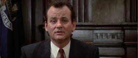 - Dr. Venkman... would you please tell the court why it is that you and your co-defendants took it upon yourselves to dig a very big hole in the middle of First Avenue. - Well, there's so many holes in First Avenue we really didn't think anyone would notice.