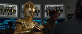- Wipe that nervous expression off your face, Threepio.