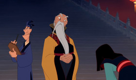 I've heard a great deal about you, Fa Mulan. You stole your father's armor, ran away from home, impersonated a soldier, deceived your commanding officer, dishonored the Chinese army, destroyed my palace and you have saved us all.