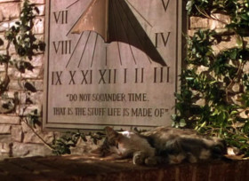Do not squander time. That is the stuff life is made of.
