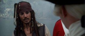 - Well, well, Jack Sparrow, isn't it? - Captain Jack Sparrow, if you please! - Well, I don't see your ship, captain. - I'm in the market, as it were.